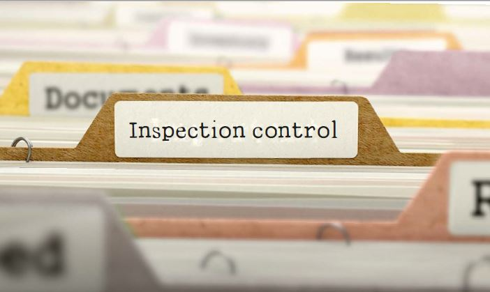 What is annual inspection control