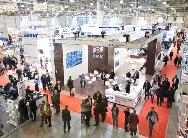 Professional exhibitions in Russia